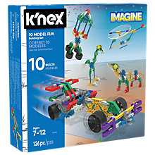 Buy K'Nex 17009 10 Model Fun Building Set Online at johnlewis.com