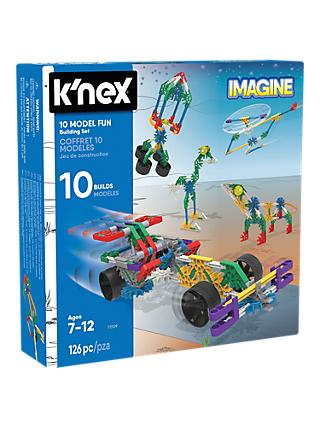 K'Nex 17009 10 Model Fun Building Set
