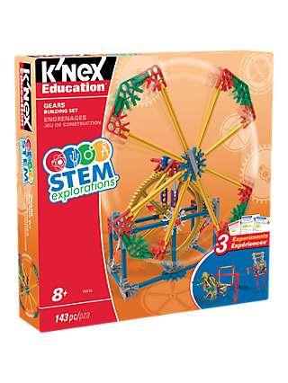 K'Nex 79318 STEM Explorations Gears Building Set