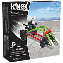 Buy K'Nex 17006 Rocket Car Building Set Online at johnlewis.com