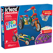 Buy K'Nex 79320 STEM Explorations Vehicles Building Set Online at johnlewis.com