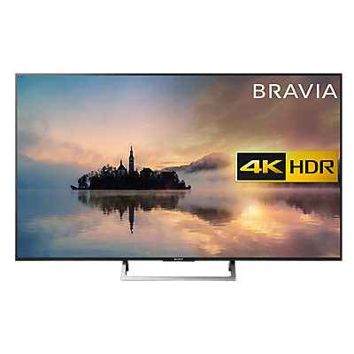 Sony Bravia KD65XE7003 LED HDR 4K Ultra HD Smart TV, 65 with Freeview HD & Cable Management, Black