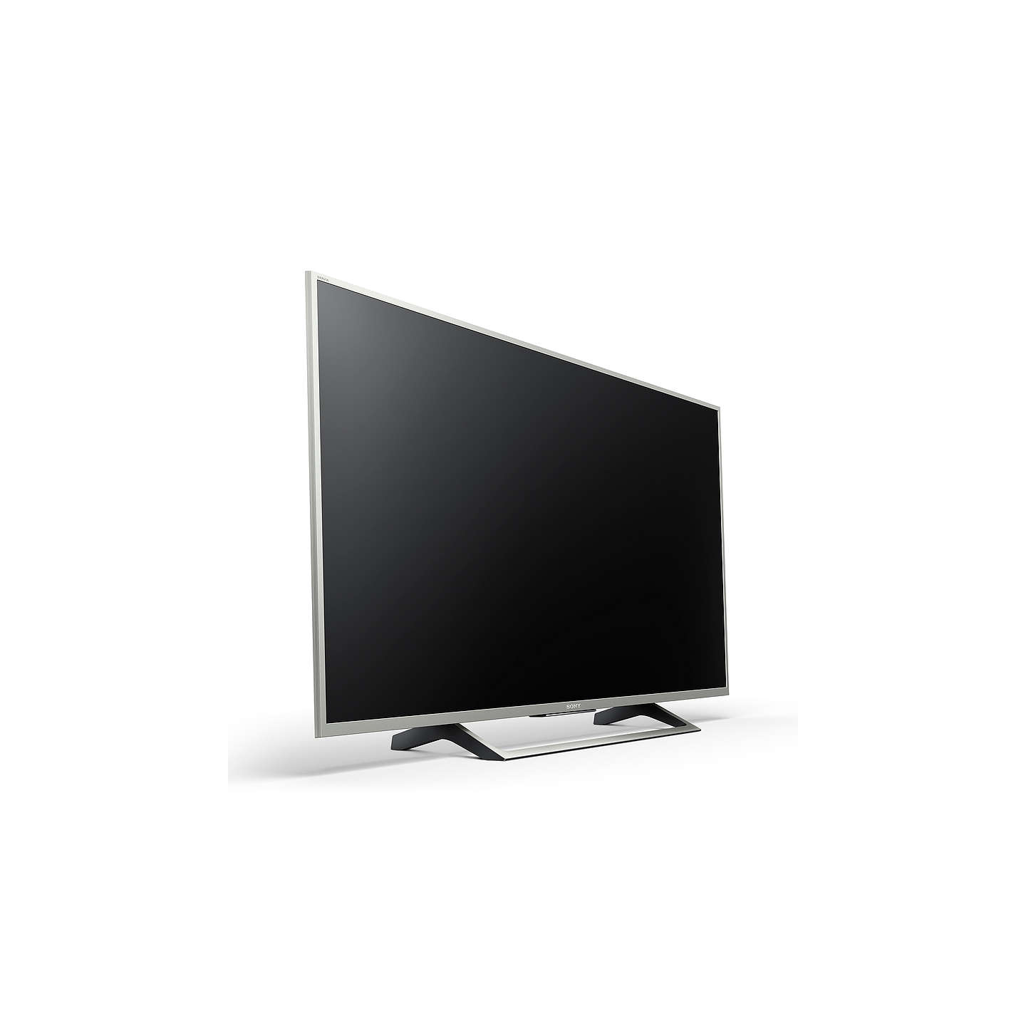 "BuySony Bravia KD49XE7073 LED HDR 4K Ultra HD Smart TV, 49"" with Freeview Play & Cable Management, Silver Online at johnlewis.com"