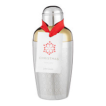 Buy John Lewis Etched Cocktail Shaker, Silver, 600ml Online at johnlewis.com