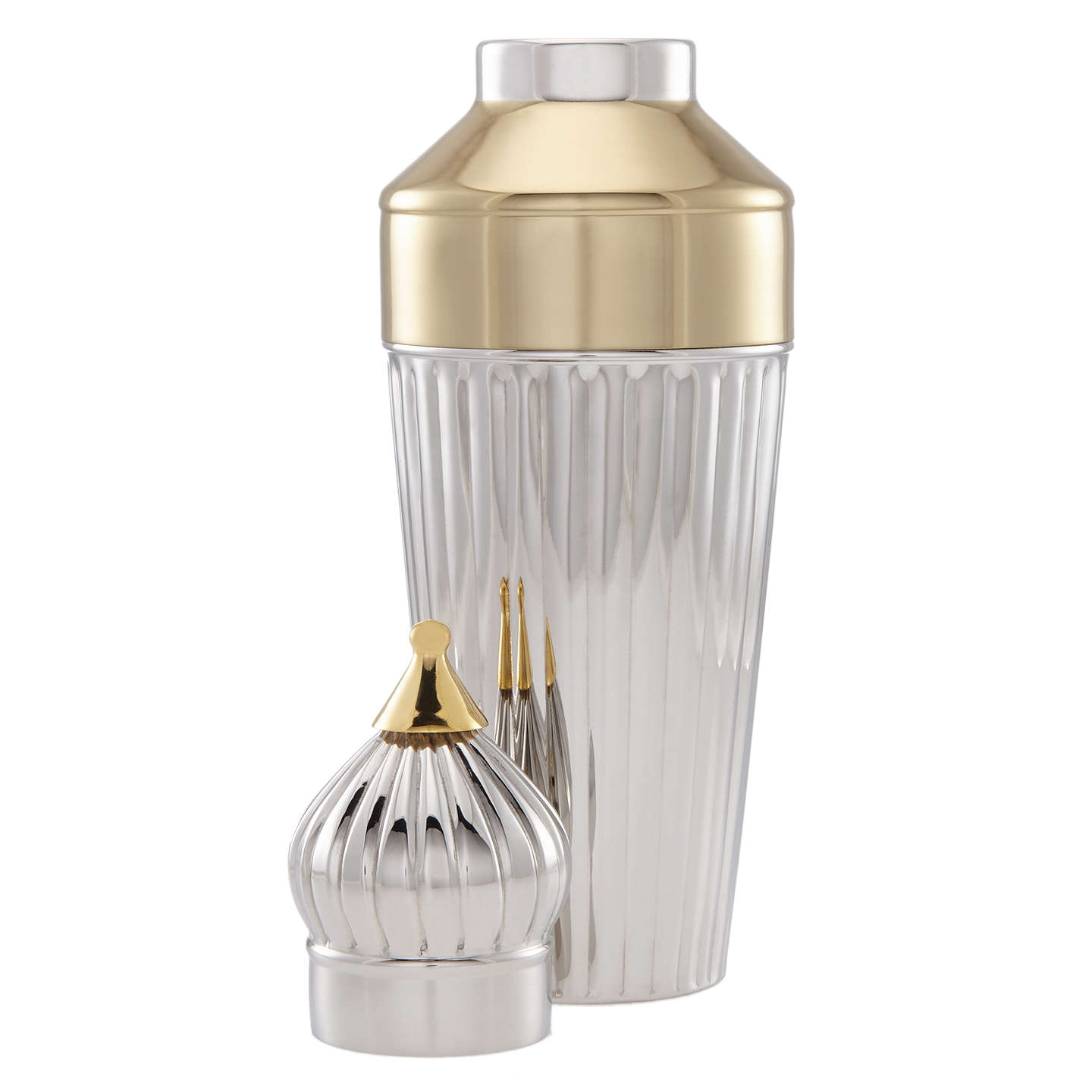 BuyJohn Lewis St Basil Cocktail Shaker, Silver, 600ml Online at johnlewis.com