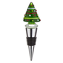 Buy John Lewis Christmas Tree Bottle Stopper Online at johnlewis.com