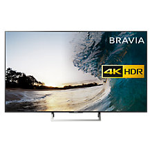 "Buy Sony Bravia 65XE8596 LED HDR 4K Ultra HD Smart Android TV, 65"" with Freeview HD & Youview, Black Online at johnlewis.com"