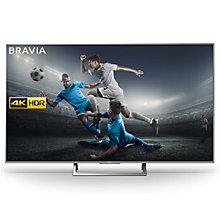 "Buy Sony Bravia KD65XE8596 LED HDR 4K Ultra HD Smart Android TV, 65"" with Freeview HD & Youview, Black Online at johnlewis.com"