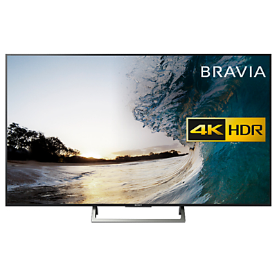 Sony Bravia KD75XE8596 LED HDR 4K Ultra HD Smart Android TV, 75 with Freeview HD & Youview, Black
