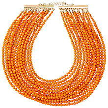 Buy John Lewis Beaded Layered Multi Row Necklace Online at johnlewis.com