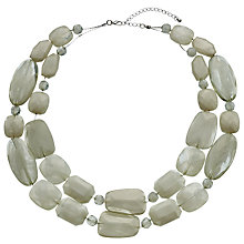 Buy John Lewis Beaded Double Layer Necklace Online at johnlewis.com