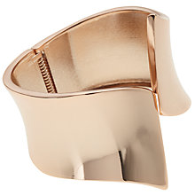 Buy John Lewis Slanted Edge Cuff, Rose Gold Online at johnlewis.com