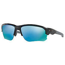 Buy Oakley OO9364 Flak Draft Prizm Polarised Wrap Sunglasses Online at johnlewis.com