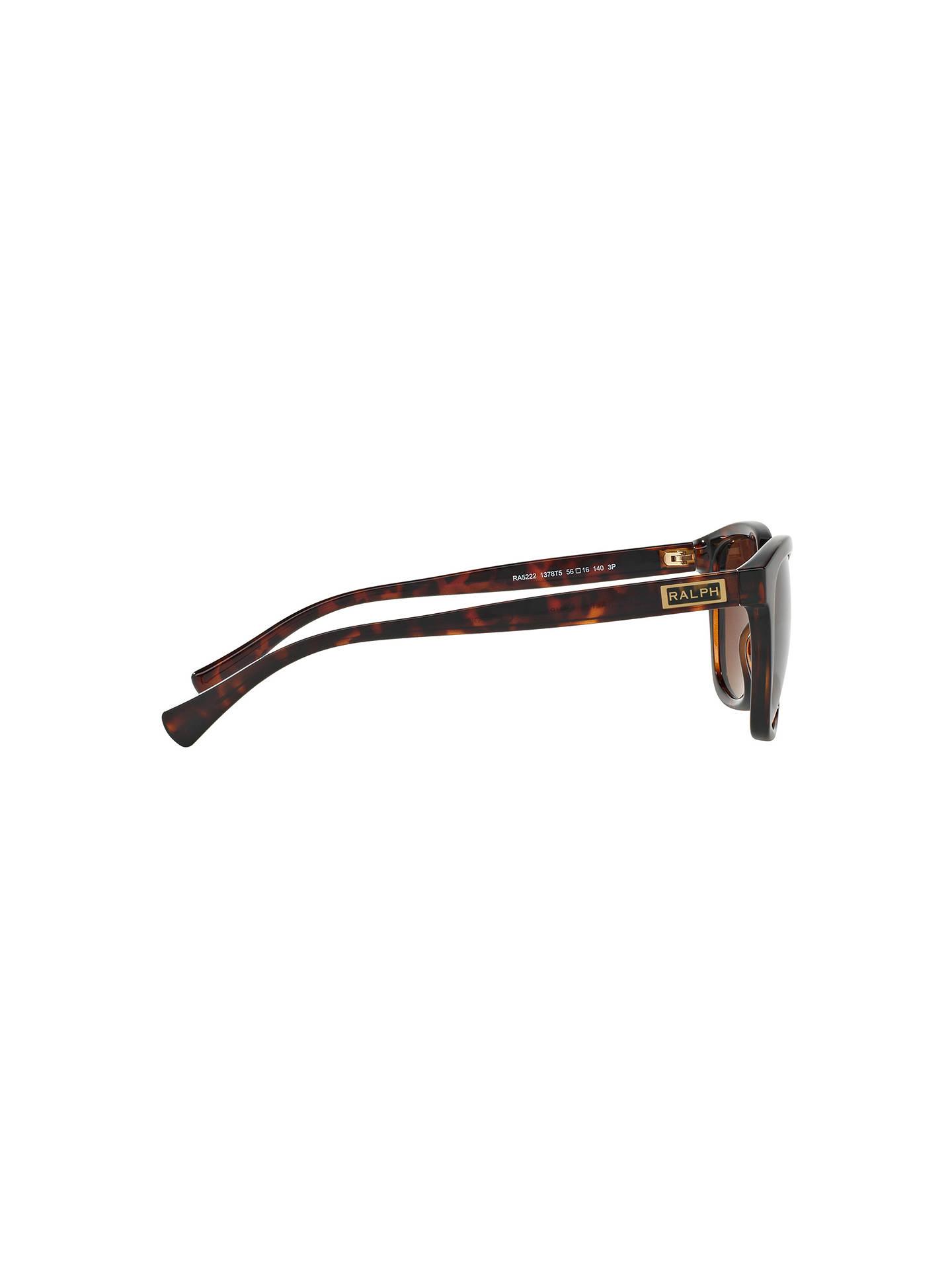 9042e5554ee0 Ralph RA5222 Square Polarised Sunglasses at John Lewis   Partners