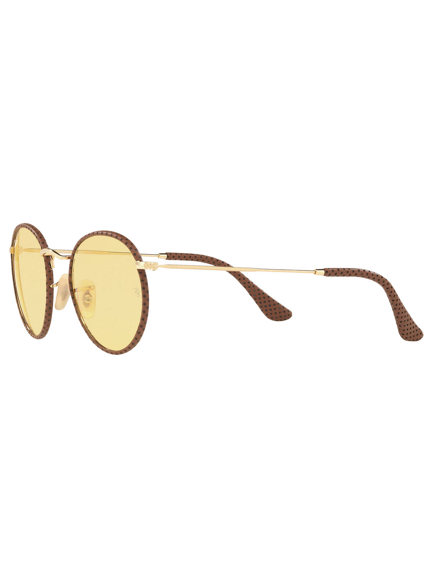 019 62 matte silver 7c565 a7309  new zealand buyray ban rb3475q round craft  sunglasses gold yellow online at johnlewis 5cc86 dffba d549d2af4f