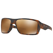 Buy Oakley OO9380 Double Edge Prizm Polarised Rectangular Sunglasses Online at johnlewis.com