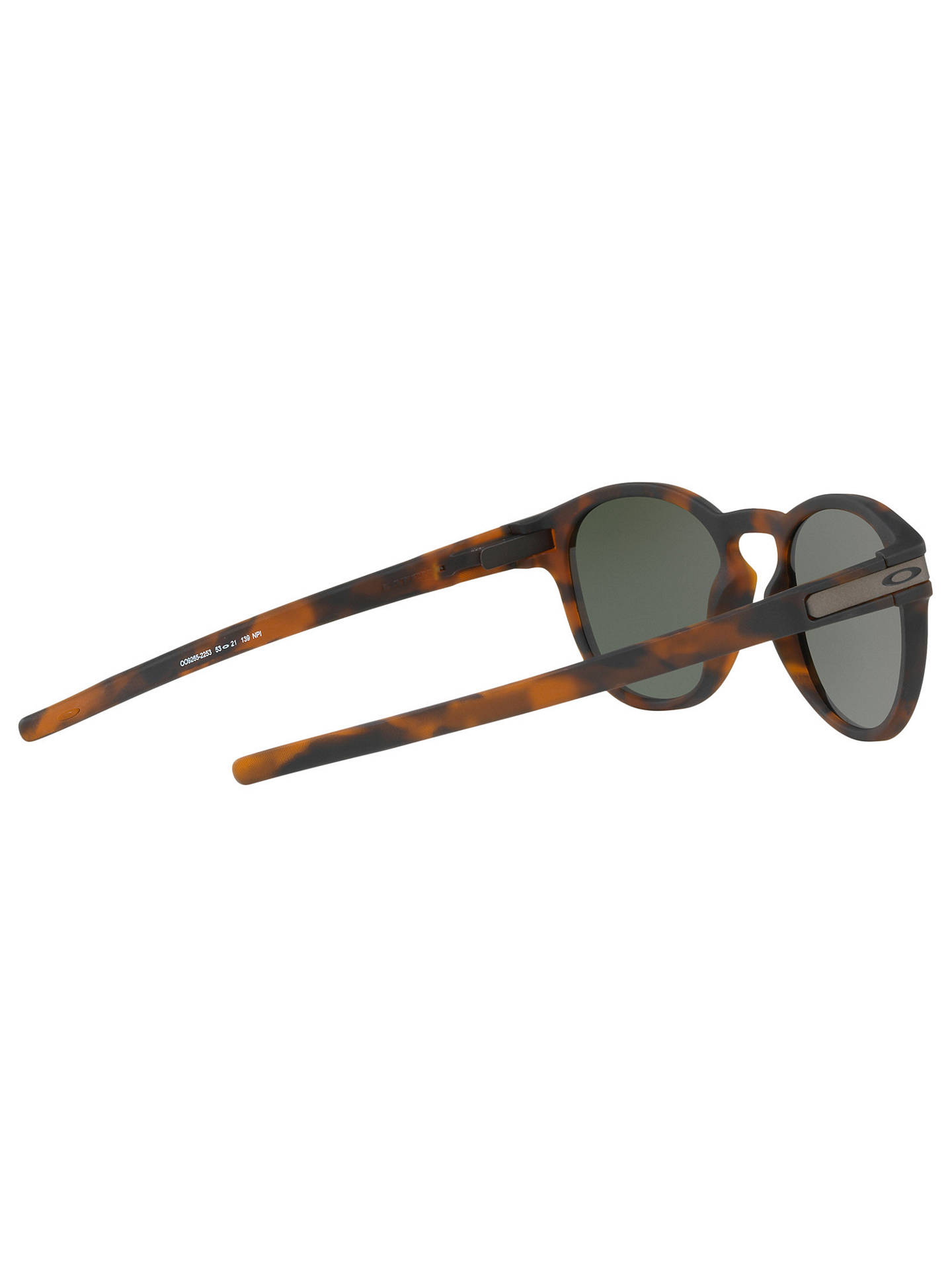 49c34fc03d309 Oakley OO9265 Men s Latch Round Sunglasses at John Lewis   Partners