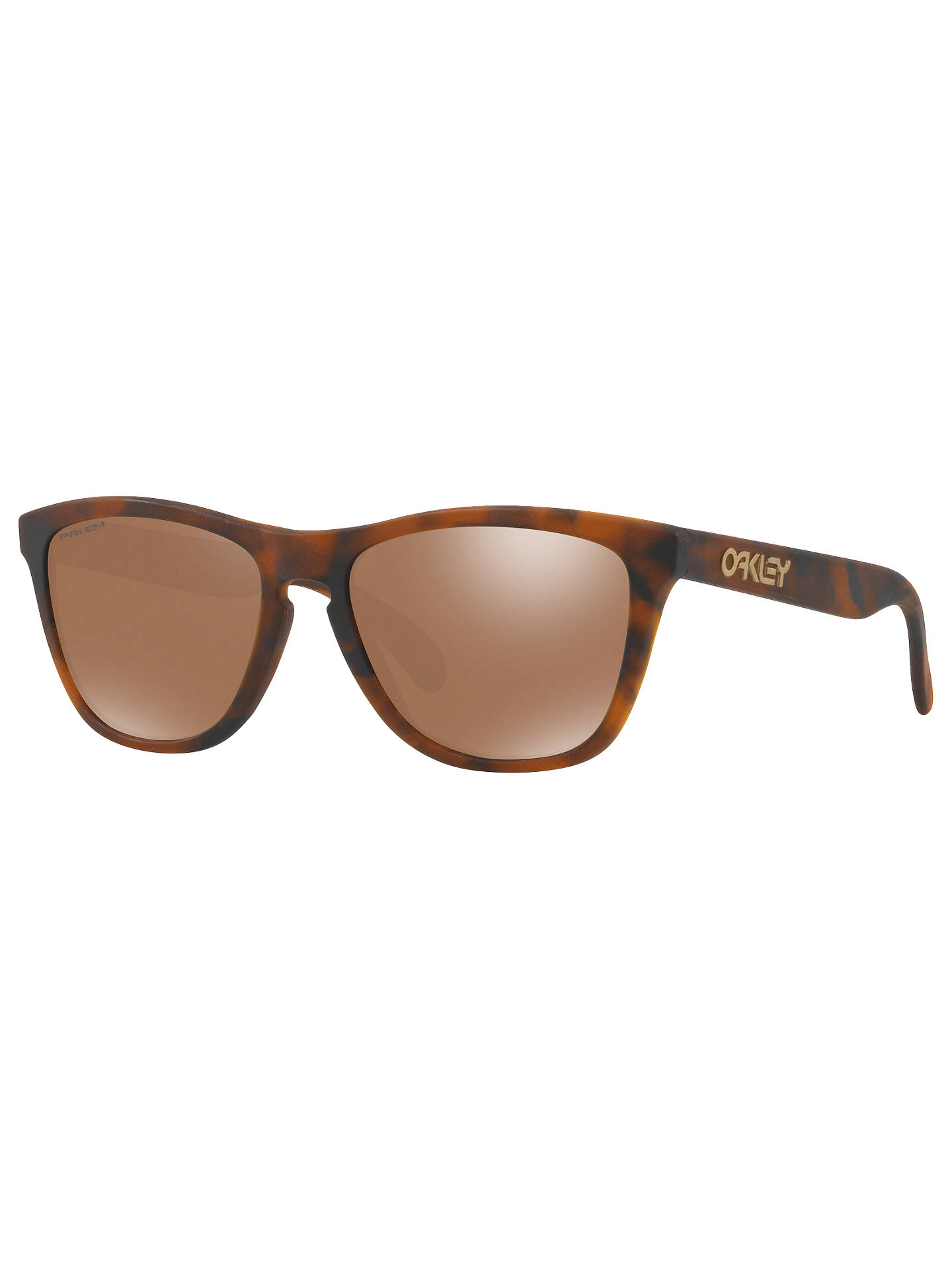 052239f4f Buy Oakley OO9013 Frogskins Square Sunglasses, Tortoise/Mirror Brown Online  at johnlewis.com ...