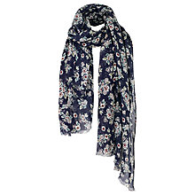 Buy Fat Face Hetty Floral Scarf, Midnight/Multi Online at johnlewis.com