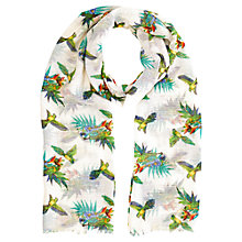 Buy Oasis Palm Bird Penang Scarf, Multi Online at johnlewis.com