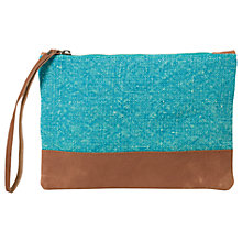 Buy East Jute Pouch, Ceramic Online at johnlewis.com