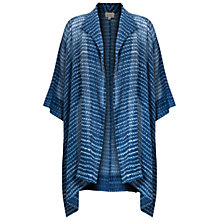 Buy East Faria Oversized Jacket, Blue Online at johnlewis.com