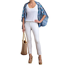 Buy Pure Collection Silk Shrug, Mosaic Print Online at johnlewis.com