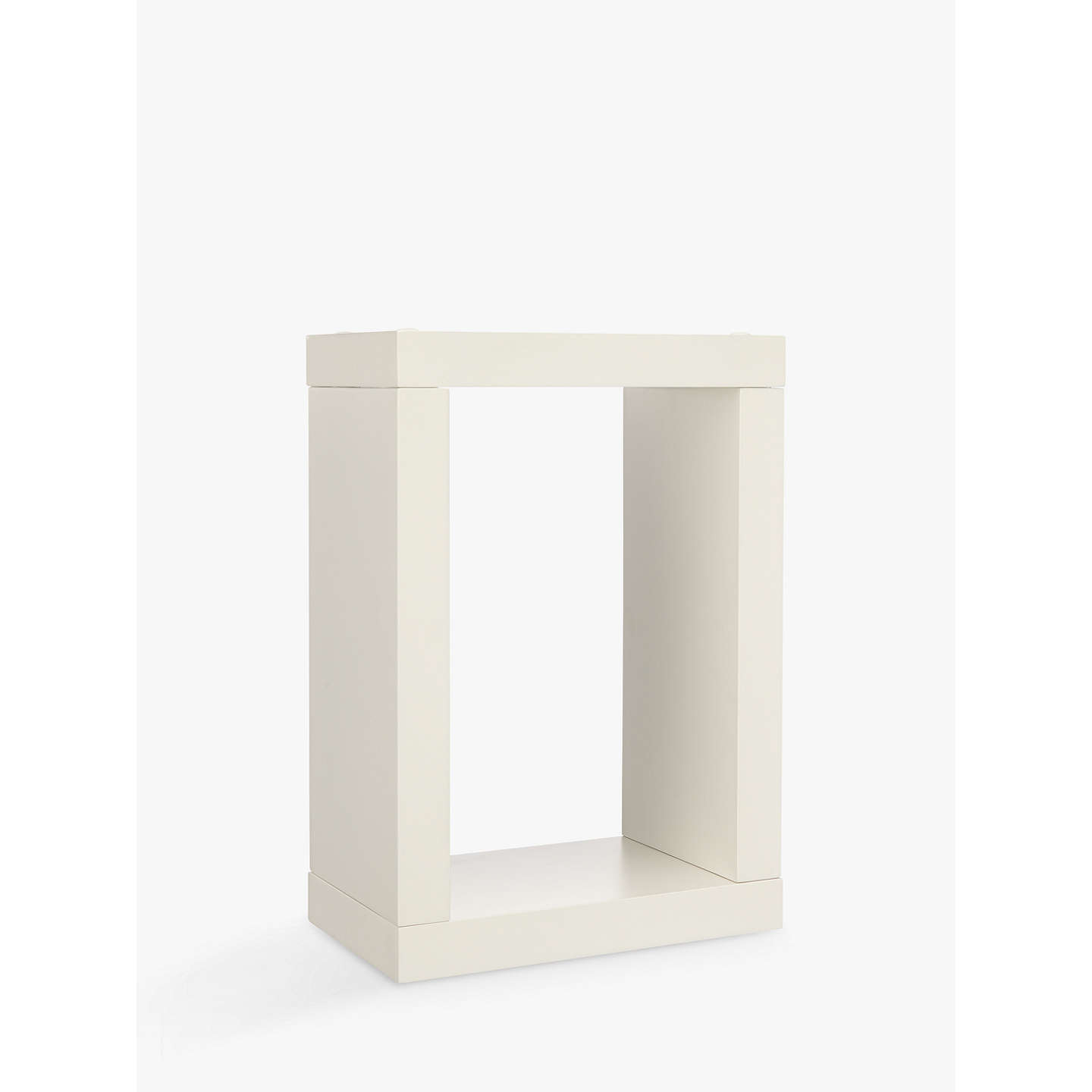 BuyHouse by John Lewis Form MDF Bathroom Box Shelf Online at johnlewis.com