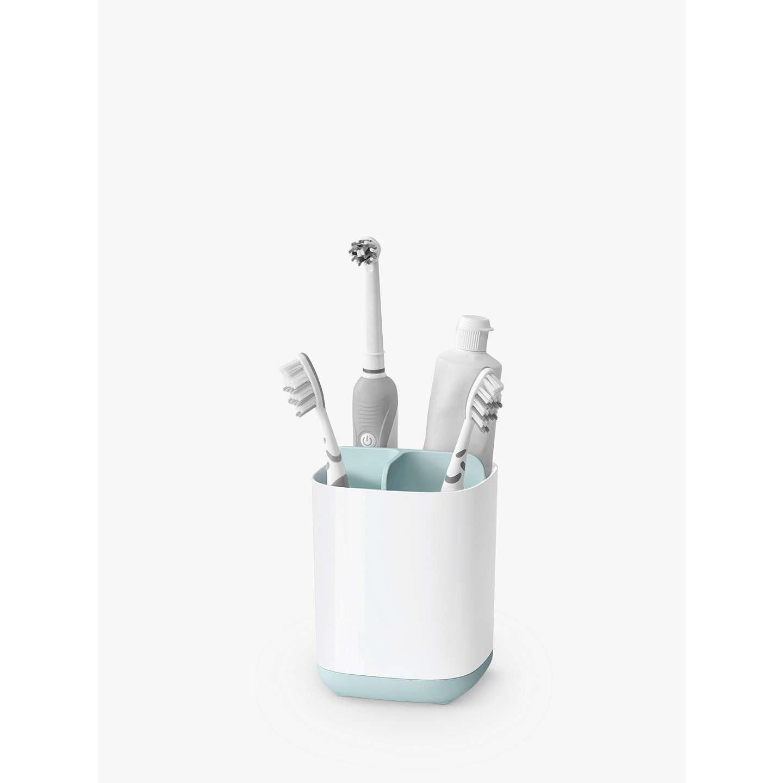 easystore joseph joseph toothbrush holder blue at john lewis. Black Bedroom Furniture Sets. Home Design Ideas