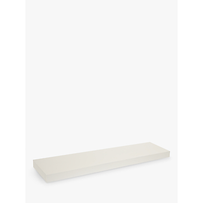 House by John Lewis Form MDF Bathroom Shelf, Long