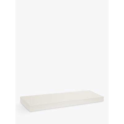 House by John Lewis Form MDF Bathroom Shelf, Short