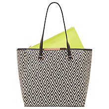 Buy Ted Baker Natasha Shopper Bag, Black Online at johnlewis.com
