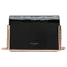 Buy Ted Baker Iidaa Leather Across Body Bag Online at johnlewis.com