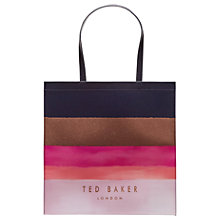 Buy Ted Baker Delcon Marina Mosaic Large Shopper Bag, Navy Online at johnlewis.com