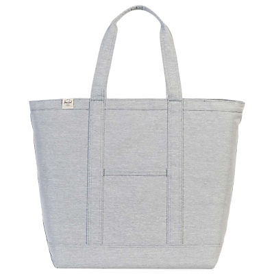 Product photo of Herschel supply co bamfield shopper grey crosshatch