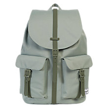 Buy Herschel Supply Co. Dawson Backpack, Green Shadow Online at johnlewis.com