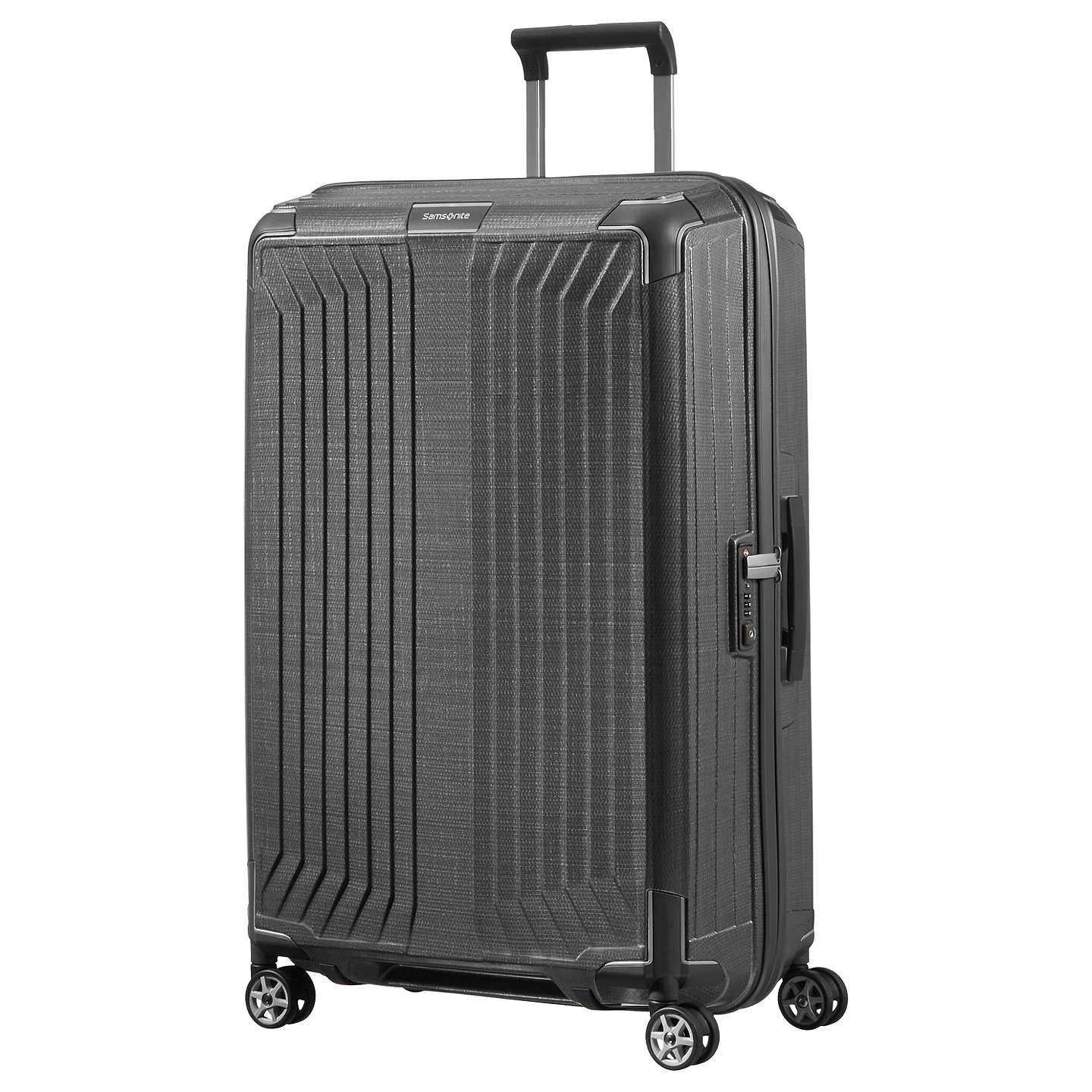 samsonite lite box 75cm 4 spinner wheel suitcase at john lewis. Black Bedroom Furniture Sets. Home Design Ideas