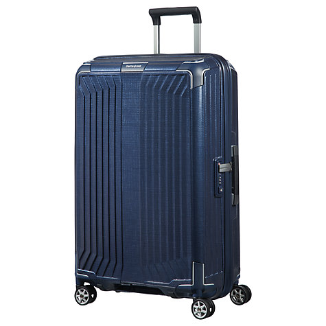 buy samsonite lite box 69cm 4 spinner wheel suitcase. Black Bedroom Furniture Sets. Home Design Ideas