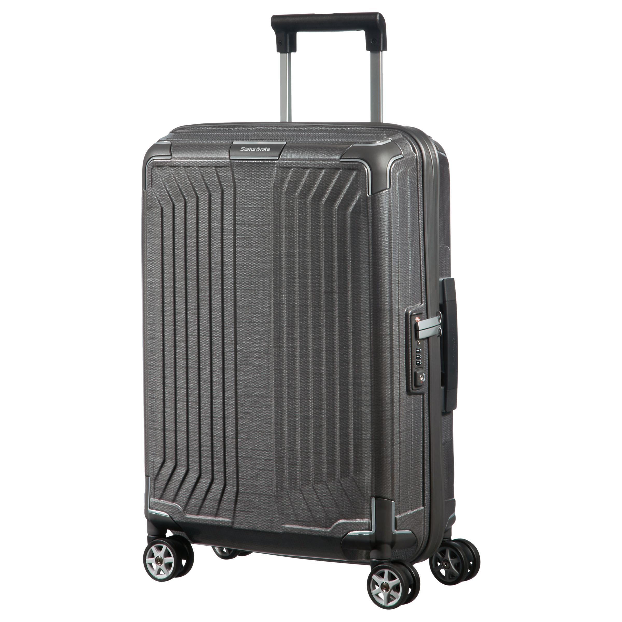 samsonite lite box 55cm 4 spinner cabin case gay times. Black Bedroom Furniture Sets. Home Design Ideas