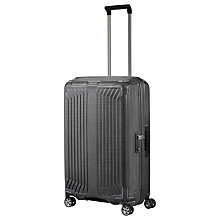 Buy Samsonite Lite-Box 69cm 4-Spinner Wheel Suitcase Online at johnlewis.com