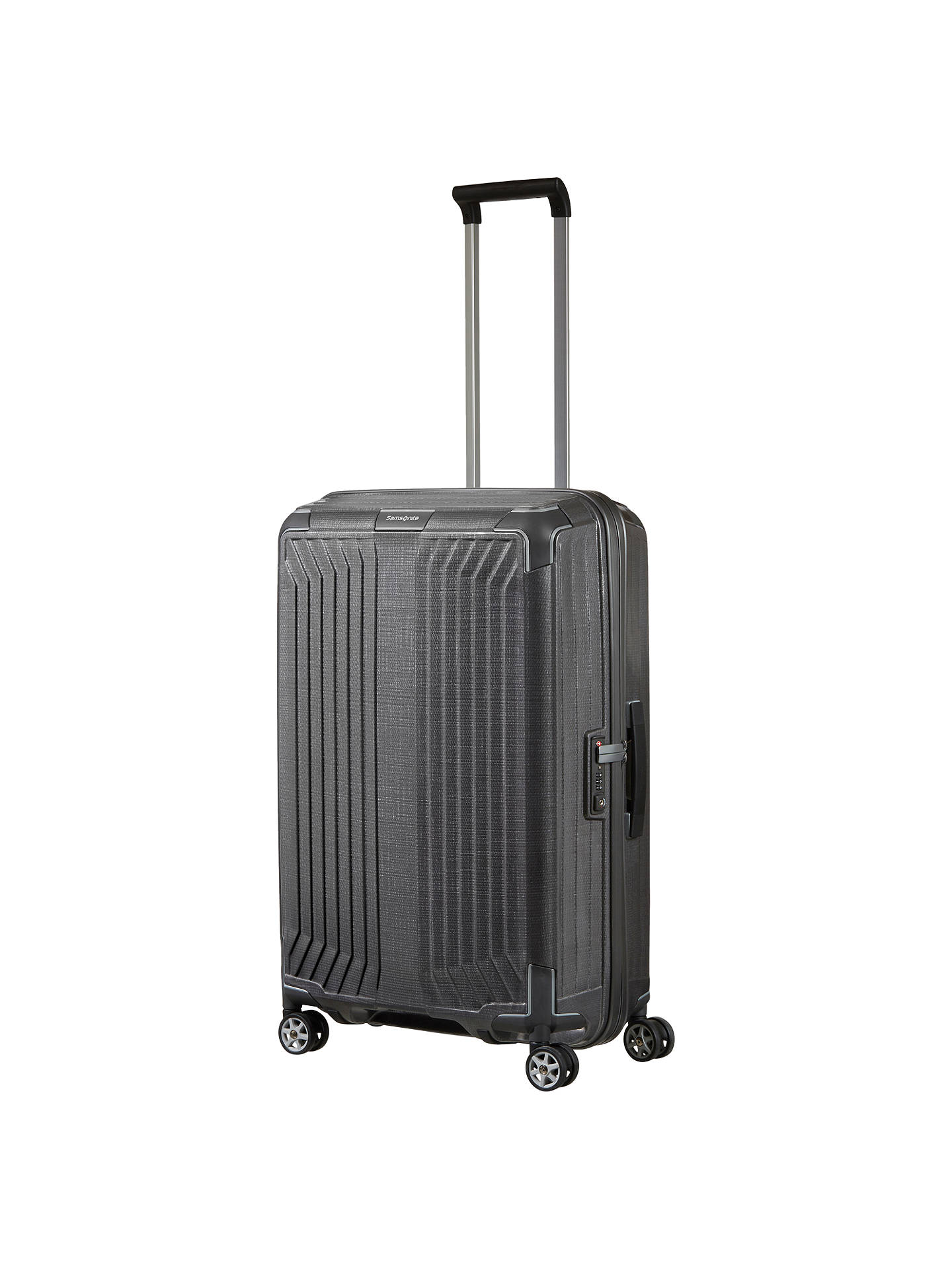 samsonite lite box 69cm 4 spinner wheel suitcase at john. Black Bedroom Furniture Sets. Home Design Ideas