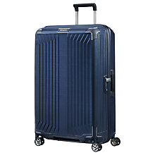 Buy Samsonite Lite-Box 75cm 4-Spinner Wheel Suitcase Online at johnlewis.com