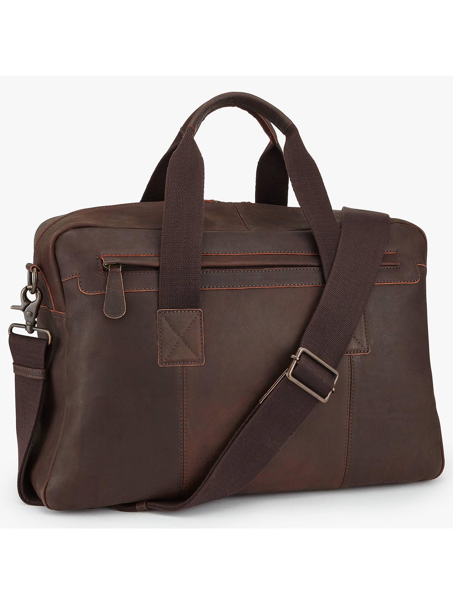 8cdf02988257 Buy John Lewis   Partners Toronto Leather Holdall