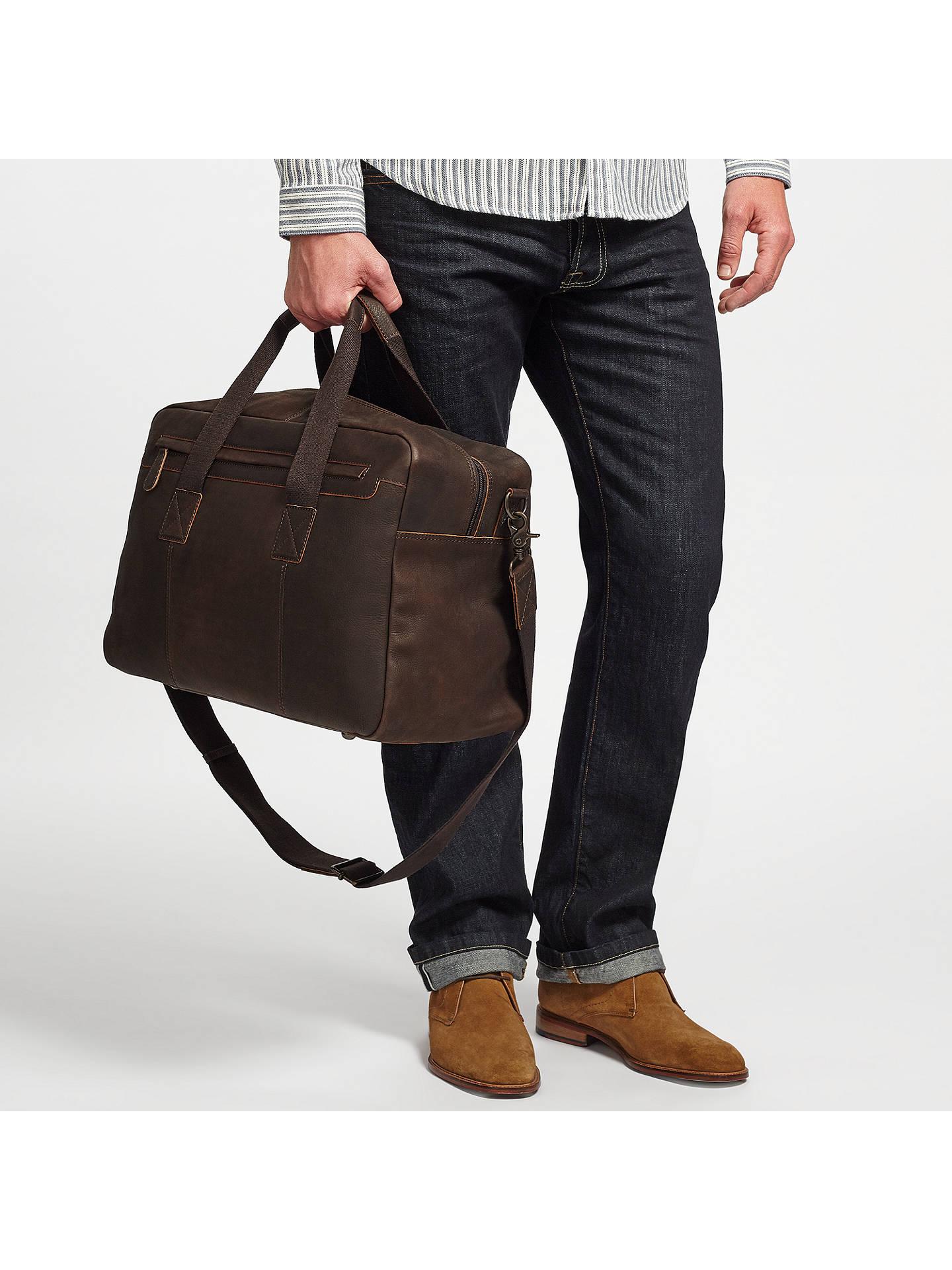 93878f961eb7 ... Buy John Lewis   Partners Toronto Leather Holdall