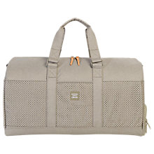 Buy Herschel Supply Co. Novel Duffle Holdall, Khaki Crosshatch Online at johnlewis.com