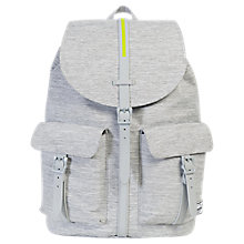 Buy Herschel Supply Co. Dawson Backpack, Grey Crosshatch Online at johnlewis.com
