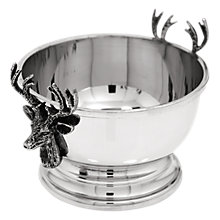 Buy English Pewter Company Stag Nut Bowl, Pewter Online at johnlewis.com