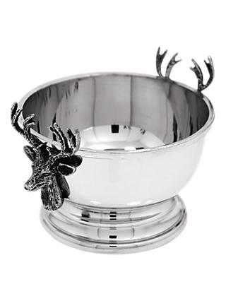 English Pewter Company Stag Nut Bowl, Pewter
