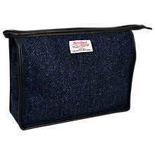 Buy Harris Tweed Herringbone Zip top Holdall Online at johnlewis.com