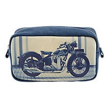 Buy Catseye Motorcycle Wash Bag, Grey/White Online at johnlewis.com